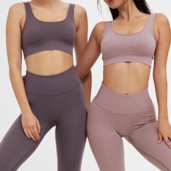 2020 Fashion Seamless Sports Bra Breathable Sexy Fitness and Yoga Wear Factory