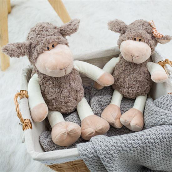 Children's Plush Toys Cute Little Sheep Doll Lamb Puppet