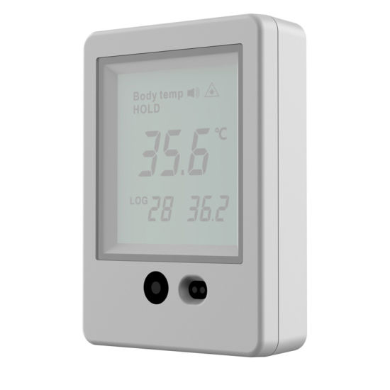 No-Contact Infrared Visitor Body Temperature Guard