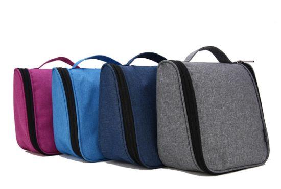Water Resistant Travel Wash Makeup Organizer Cosmetic Bag