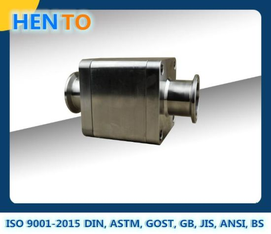 Forging Industrial Valve CNC Machining Stainless Steel Hygienic /Sanitary Ball Valve Parts