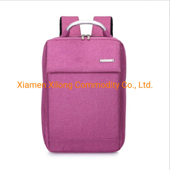 Wholesale Fashion Large Capacity Leisure Lightweight Back Pack Mochila Business Briefcase Laptop Backpack Pink