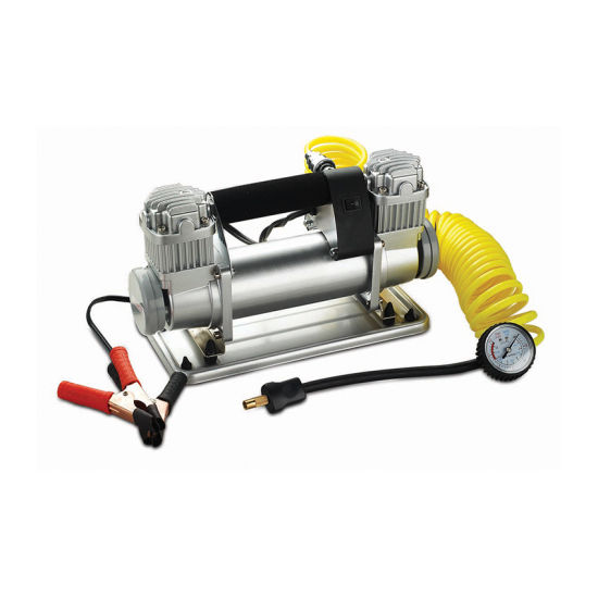 China Portable DC Motor Car Tire Inflator Pump Air Compressor