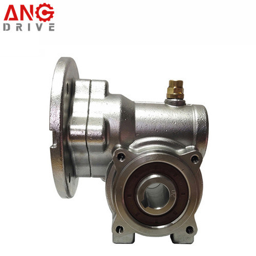 Nmrv Right Angle Square Stainless Steel Speed Worm Gear Reducer