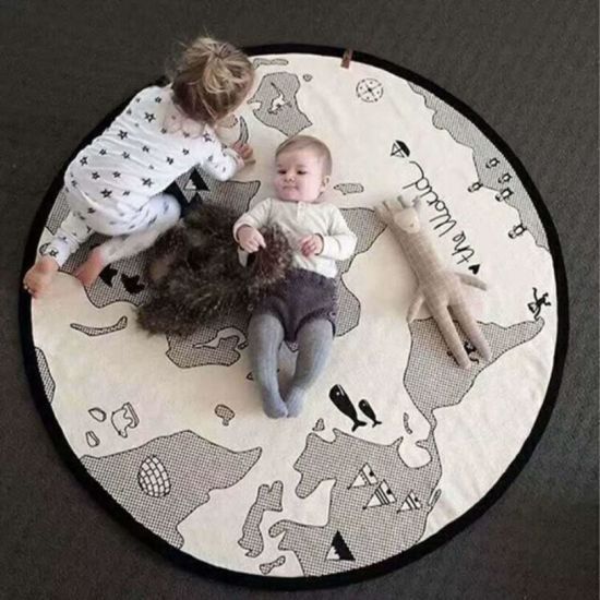 Ins Hot Style Adventure World Map Game Mat Crawler Mat Children Room Baby Child Earth Game Mat pictures & photos