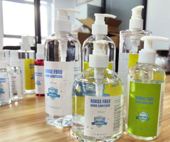 Wholesale Price Disinfectant Liquid Hand Soap 75% Alcohol Hand Sanitizer Gel