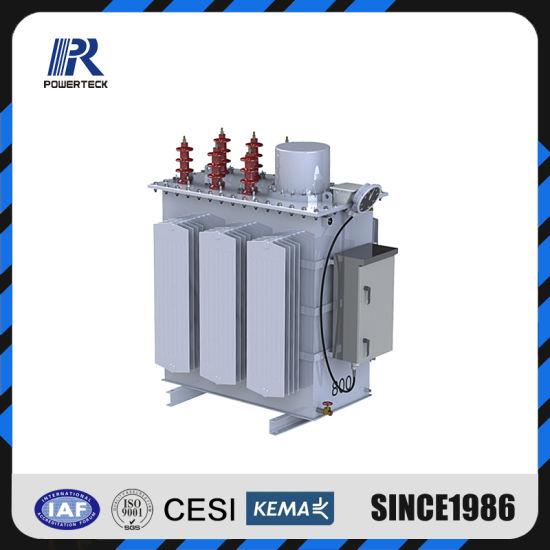 3 Phase Oil Immersed Pole Mounted 33kv Step Voltage Regulator
