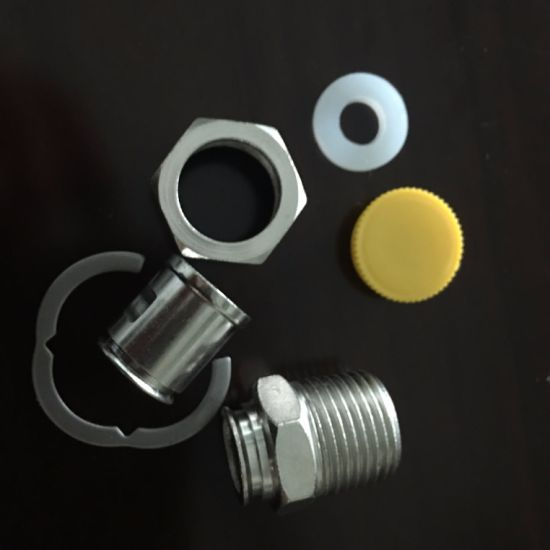 High Quality 1/2 3/4 Carbon Steel Nickel Water Hose Fitting pictures & photos
