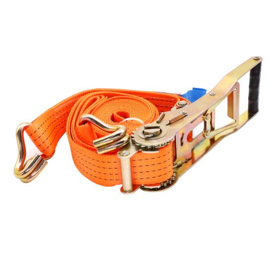 Retractable Ratchet Straps >> En 12195 2 Polyester Retractable Ratchet Tie Down Straps