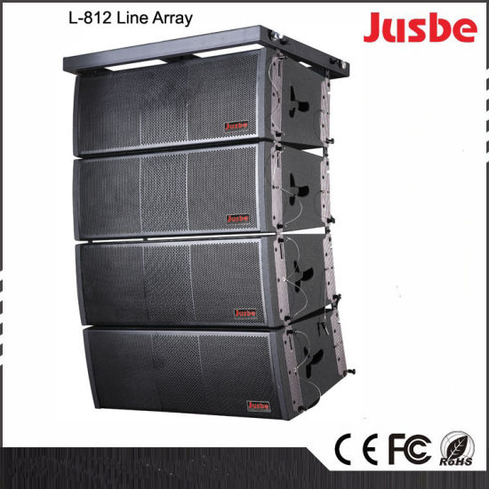 L-812 Dual 12-Inch 2-Way 4-Unit Full Frequency Line Array Speaker