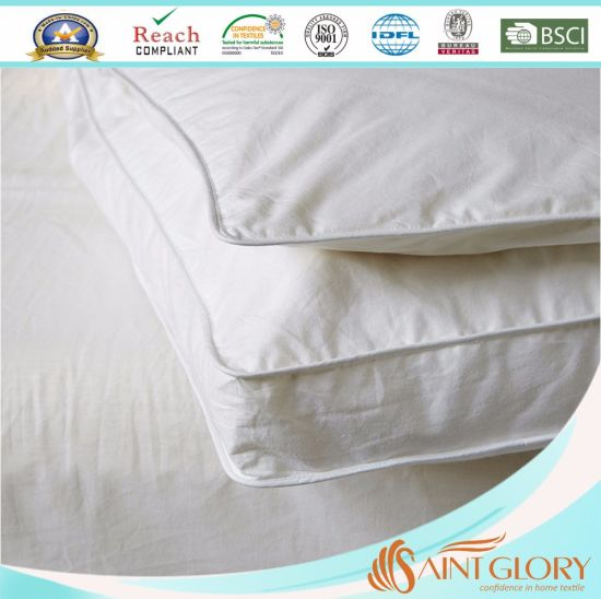 Goose Feather Filling Dual Removable Mattress Topper pictures & photos