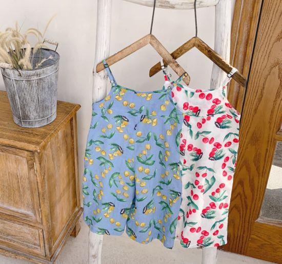 Girls' Korean Version Uspender Pant Children's Dresses Apparel