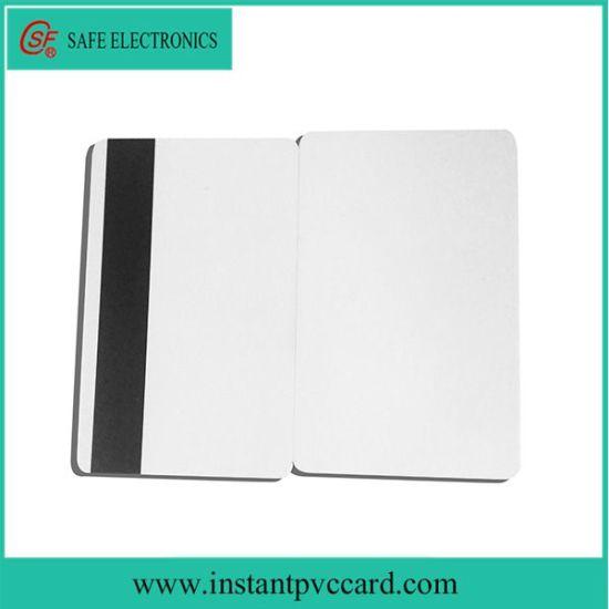 Inkjet Printable Magnetic Stripe Magnetic Stripe PVC Card for Canon Printer