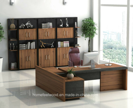 Home Feel Brands Office Desks Wooden Luxury Office Table (HF-JO4019H) pictures & photos