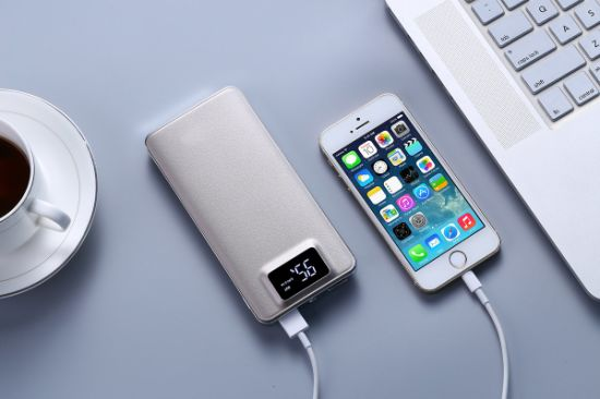 Kingmaster Powerbank 11000 Portable Charger High Capacity External Battery with Digital Display Quick Charge 2.0 Portable Power Bank pictures & photos