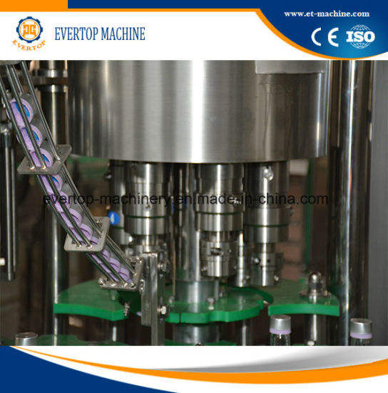 3in1 Beverage Filling Machine for Glass Bottle pictures & photos