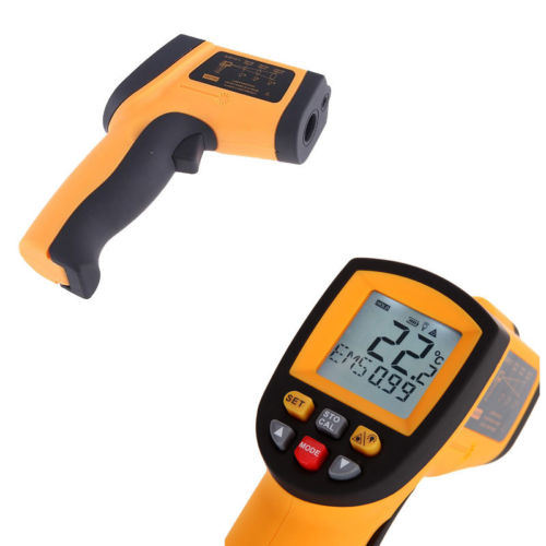 GM550 Non-Contact Digital Infrared Thermometer Laser Point Temperature Tester pictures & photos