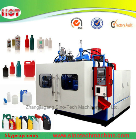 China Plastic Water Bottle Extrusion Blowing Mold Making Machine