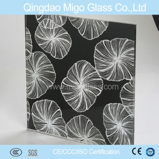 2mm Silk Screen Printing Tempered Glass pictures & photos