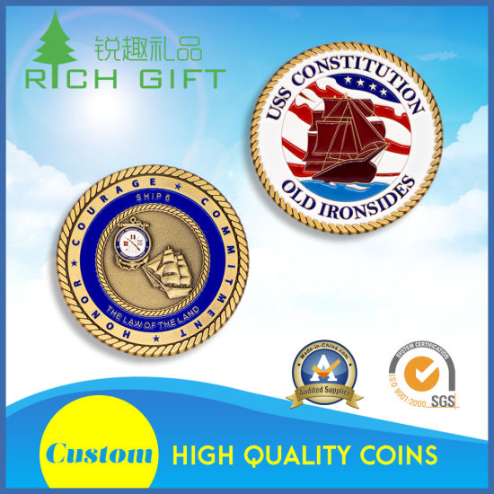 Promotional Gifts Professional Design Sports Gold Plated Coins Maker pictures & photos