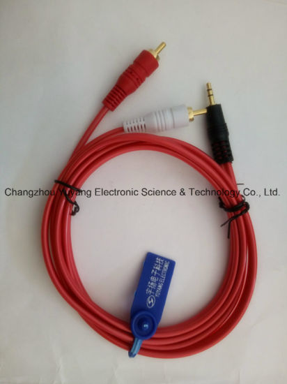 3.5 Stereo to 2r Audio/Video AV RCA Cable pictures & photos