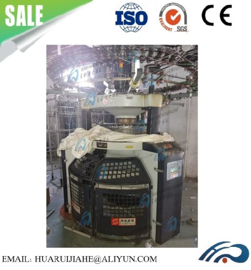 Used Circular Knitting Machine Lot for Sale Computerized Rib Transferred Jacquard Circular Knitting Machine Used Wellknit Mayer Circular Knitting Machine pictures & photos