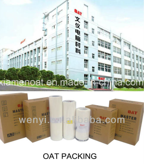 Good Quality Printing Paper for Duplo Drs55 A3 Master Roll pictures & photos