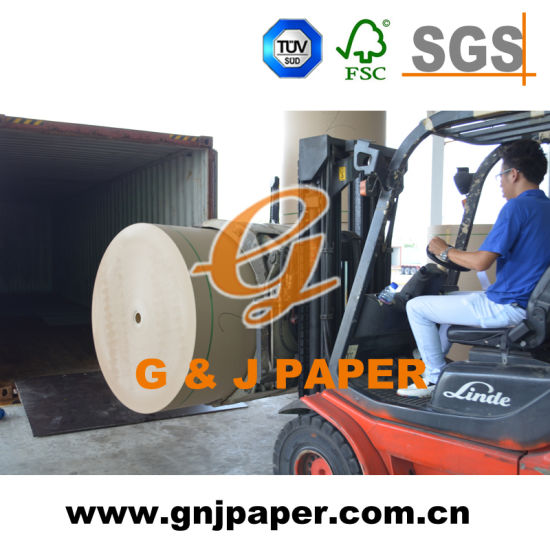 Good Quality Brown Kraft Liner Board Paper for Carton Making pictures & photos