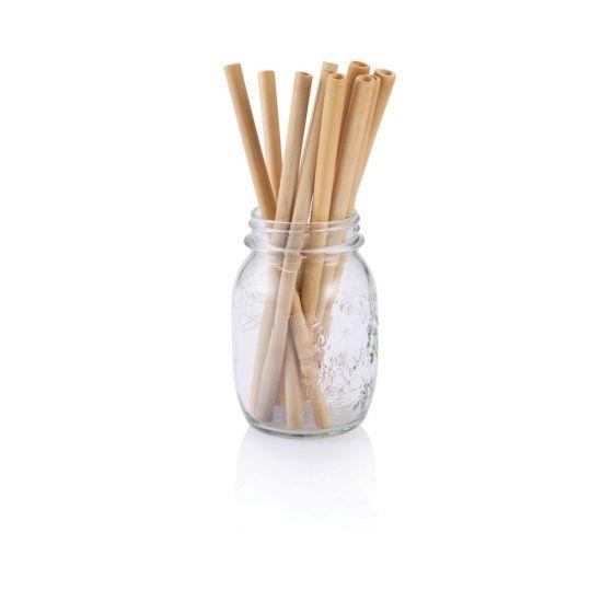 Reusable & Biodegradable Straw Handmade Bamboo Drinking Straws