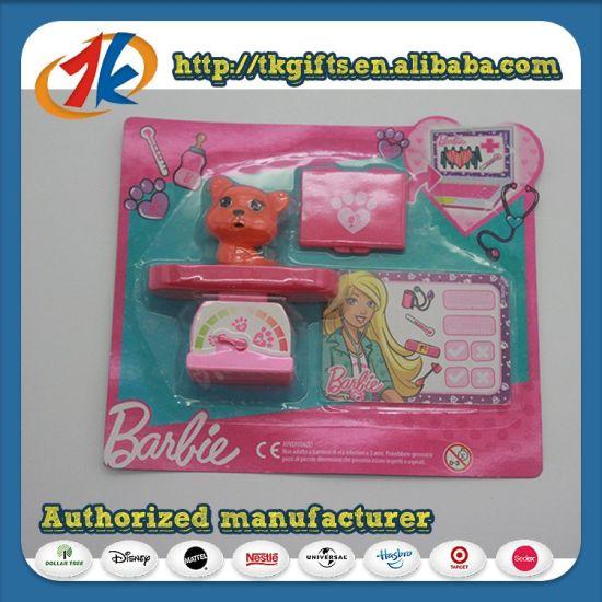 Promotion Gift Plastic Mini Animal Cat Set Toy for Kids