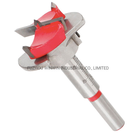 Hinge Cutter Boring Drill Wood Hole Bit Reamer with Depth Guide 35MM
