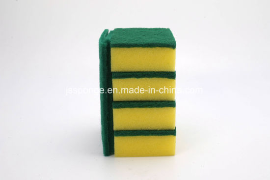 Dishes Washing Sponge Scouring Pad pictures & photos