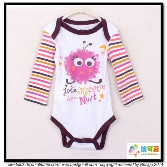 Envelope-Neck Baby Apparel Newborn Girl Bodysuits