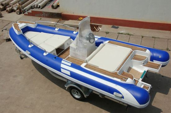 Funsor Inflatable Rib Fishing Boat with EU Ce (FQB-R550) pictures & photos