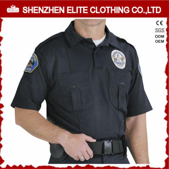 c6881e321 Black Customized Security Shirt Guard Uniform for Men (ELTHVJ-292) pictures  & photos