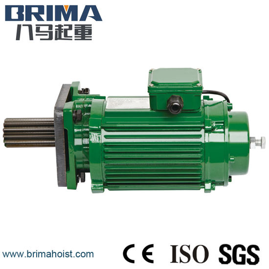 0.37kw High Performance Electric Crane Geared Motor Without Buffer (BM-050) pictures & photos