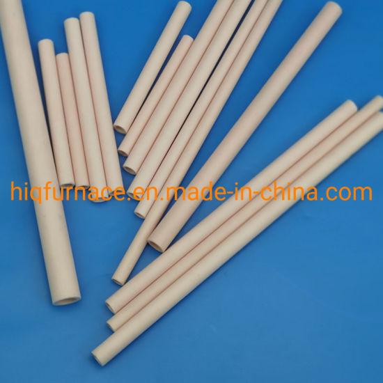 99% Al2O3 Ivory Industrial Corundum Ceramic Tube /Alumina Ceramic Pipe, High Purity Corundum Ceramic Tube