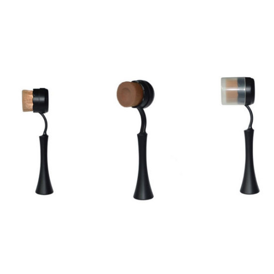Black Handle Multifunction Groove Bottom Single Cosmetic Brush pictures & photos
