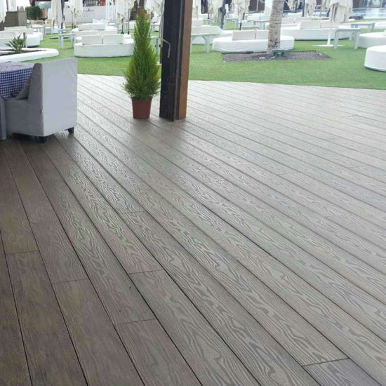 Plastic Decking Prices >> Europe Diy Decorative Wpc Extruded Wood Plastic Composite Decking Prices In China