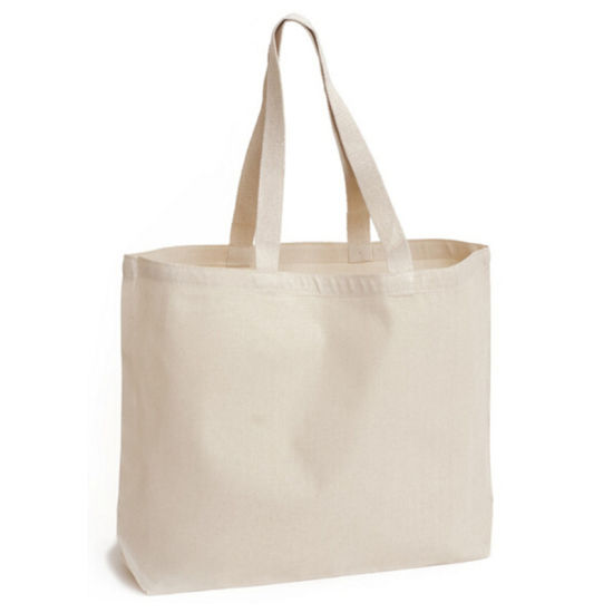 Customized Wholesale Standard Size Cotton Canvas Bag pictures & photos