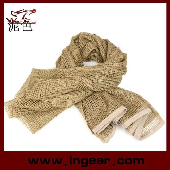 China Multifunctional Tactical Scarf Scrim Scarf Airsoft