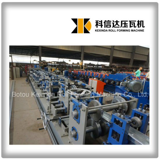 Kxd C Z Purlin Cold Roll Forming Machine pictures & photos