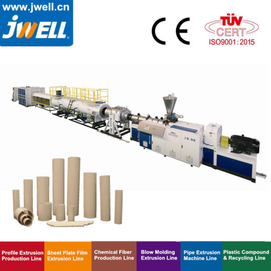Plastic PVC/CPVC Electricity Conduit Tube/ Water Sewage Pressure Pipe/Gas Hose/ Profile/Sheet Extrusion &Extruding Production Line Price