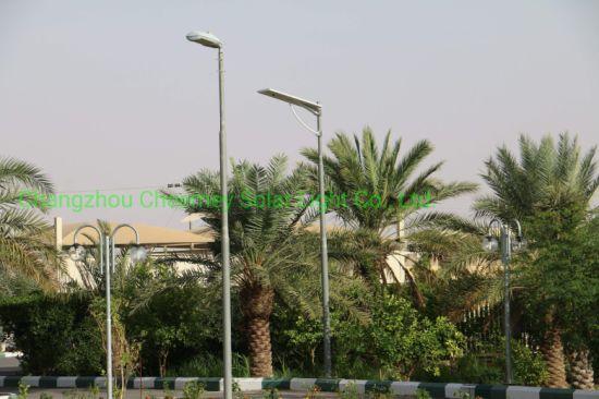 Solar Powered Outdoor Lights Solar Street Light 30W 40W 50W 60W 80W for Project Use