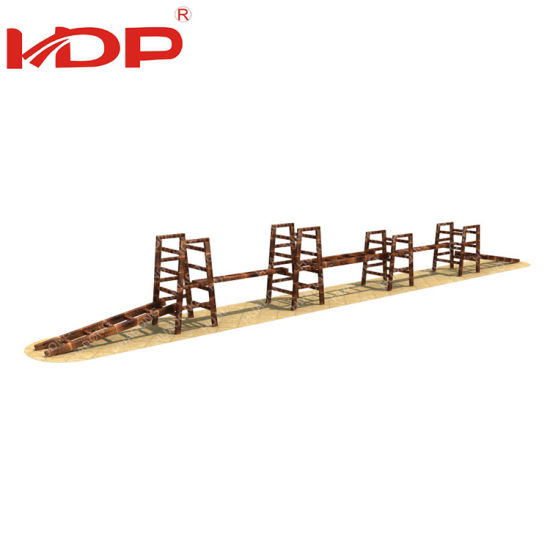 High Quality Different Size Kids Wooden Outdoor Play Gym