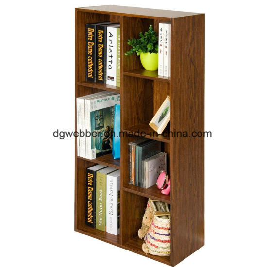 High Efficiency Modern Wood Bookcase Flat Office Furniture pictures & photos