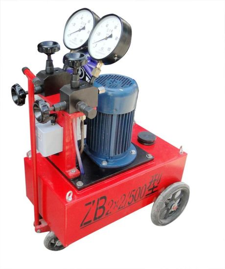 High-Pressure Electric Hydraulic Pump (ZB2*1.5/63) pictures & photos