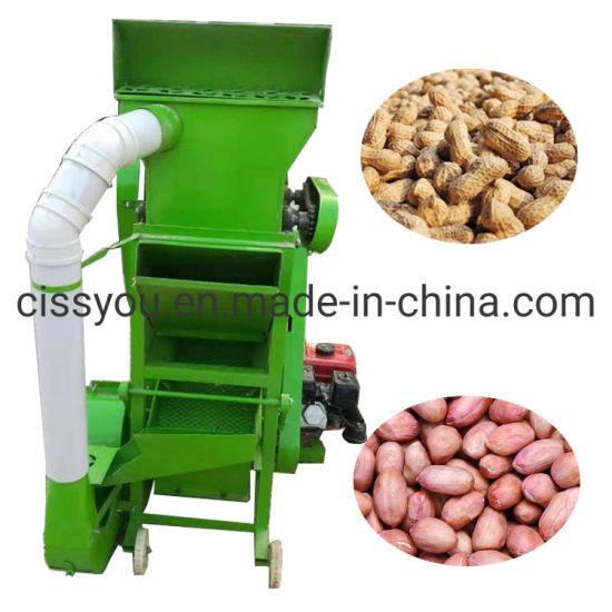 Peanut Sheller Dehulling Ground Nut Dehuller Shelling Machine