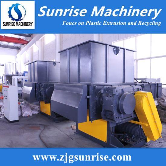 Plastic Film Jumbo Bag Lump Paper Shredder Crushing Machine Manufacturer