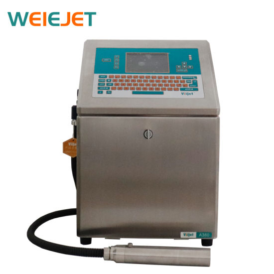 New Launched Inkjet Printing Machine Coding Machine A360 Industrial Inkjet Printer for Coding on Pharmaceuticals